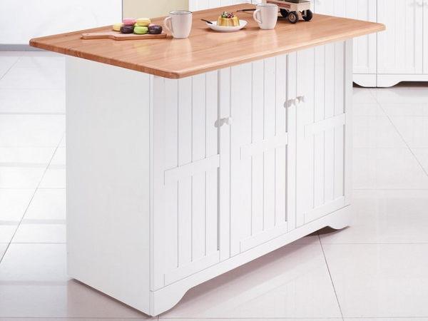 櫥櫃 餐櫃 AM-209-1 葛妮絲原木色中島雙面收納櫃【大眾家居舘】