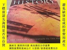 二手書博民逛書店History-The罕見Definitive Visual G