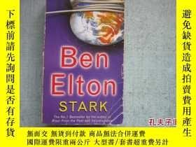 二手書博民逛書店英文原版書罕見BEN ELTON STARK 詳細書名請看圖 B