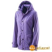 荒野 Wildland 女 絲絨防潑防風保暖外套 『粉紫』A22911