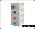 {{ 海中天休閒傢俱廣場 }} B-99  摩登時尚 抽屜整理櫃系列 SP-740 大EQ四層收納櫃(附輪)