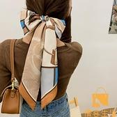 小領巾女氣質復古搭配襯衫小長條飄帶絲巾韓國腰帶發帶【慢客生活】