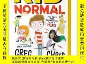 二手書博民逛書店麻瓜小子罕見英文原版 Kid Normal 少年文學 青少年小說