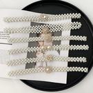 腰封皮帶 珍珠腰帶彈性水鑽珍珠裝飾腰鍊