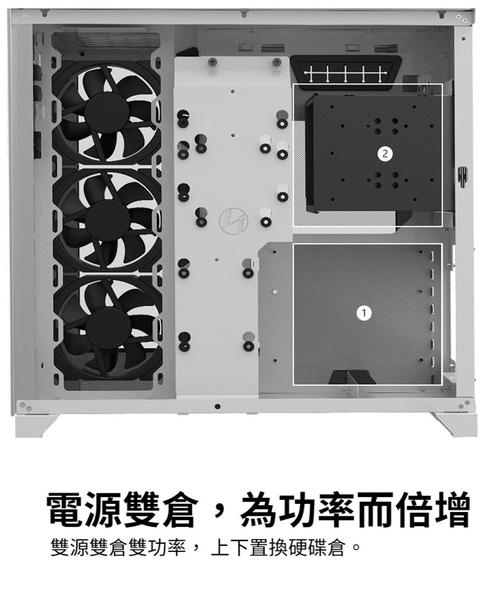 [地瓜球@] 聯力 LIANLI PC-O11 Dynamic 機殼 雙面鋼化玻璃面板 USB3.1 TypeC