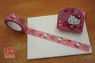 Hello Kitty 裝飾紙膠帶 紙膠帶 蘋果蝴蝶結