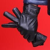 真皮機車手套-冬季薄款素面綿羊皮男女配件(單雙)2款72al4[巴黎精品]