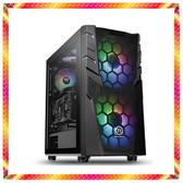 歐西里斯 RGB玻璃透側 九代 i7-9700K 水冷電競GTX1650 GDDR6 GAMING 主機