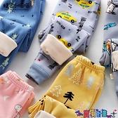 兒童加絨褲 兒童加絨加厚打底褲秋冬季男童女童保暖長褲寶寶嬰兒內穿開檔絨褲 寶貝計畫