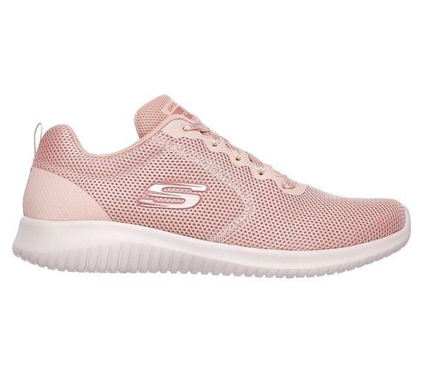 Skechers Ultra Flex - Free Spirits [12846PNK] 女鞋 運動 休閒 透氣 粉