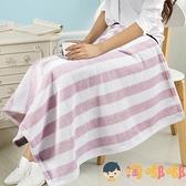 小毛毯子蓋腿午睡毯空調毯辦公室單人午休小被子加【淘嘟嘟】