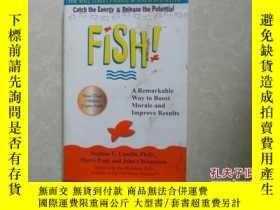 二手書博民逛書店Fish!a罕見remarkable way to boost