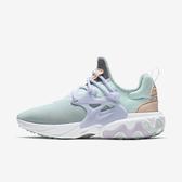 NIKE W REACT PRESTO [CJ4982-317] 女鞋 慢跑 運動 休閒 舒適 透氣 輕量 避震 綠紫