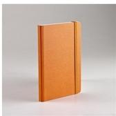 EcoQua taccuino點點筆記本/A6(80張10.5cmx14.8cm)橘色【FABRIANO】