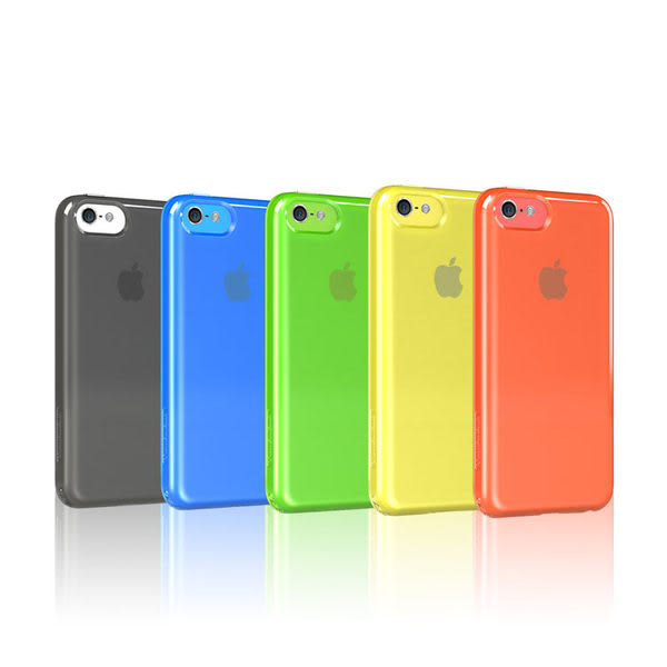TUNEWEAR SOFTSHELL iPhone 5C TPU保護殼