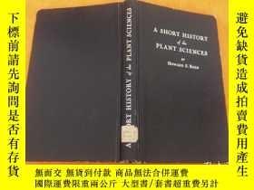 二手書博民逛書店.罕見A SHORT HISTORY of the PLANTS