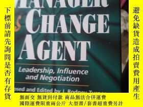 二手書博民逛書店The罕見PROJECT MANAGER as CHANGE A