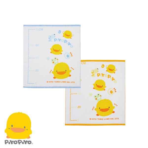 黃色小鴨 身高圖兩用毛巾