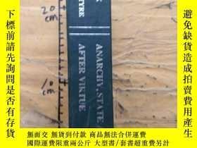 二手書博民逛書店ANARCHY,STATE罕見AND UTOPIAY252403 ROBERT NOZICK CHINA SO