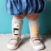 兒童中筒襪 棉襪 童襪 韓國熊貓河馬棉質中筒襪