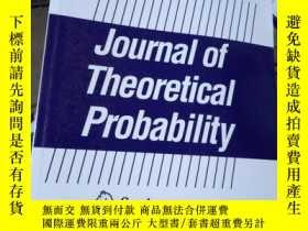 二手書博民逛書店Journal罕見of Theoretical Probabil