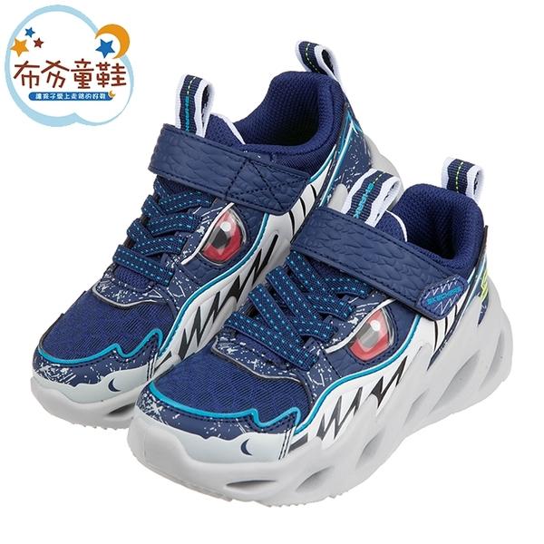 《布布童鞋》SKECHERS深海鯊魚兒童運動鞋(17~22公分) [ N1C12LB ]