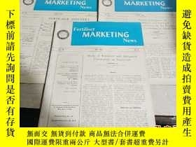 二手書博民逛書店FERTILISER罕見MARKETING NEWS.VOL.1