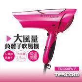 【日本TESCOM】大風量負離子吹風機 TID1000TW-P 粉色