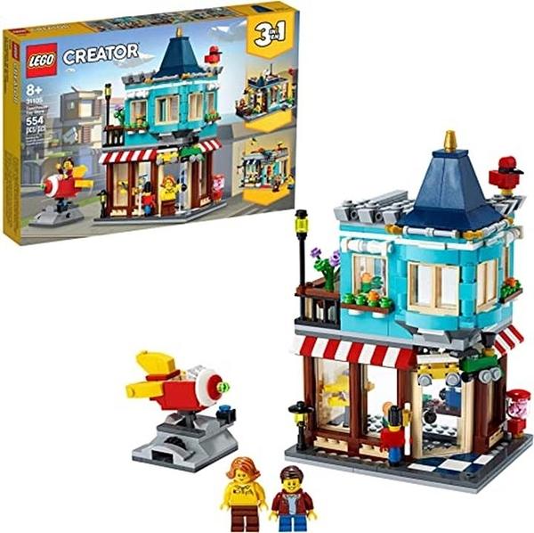 LEGO 樂高 造物主3合1聯排別墅玩具店31105 (554件)