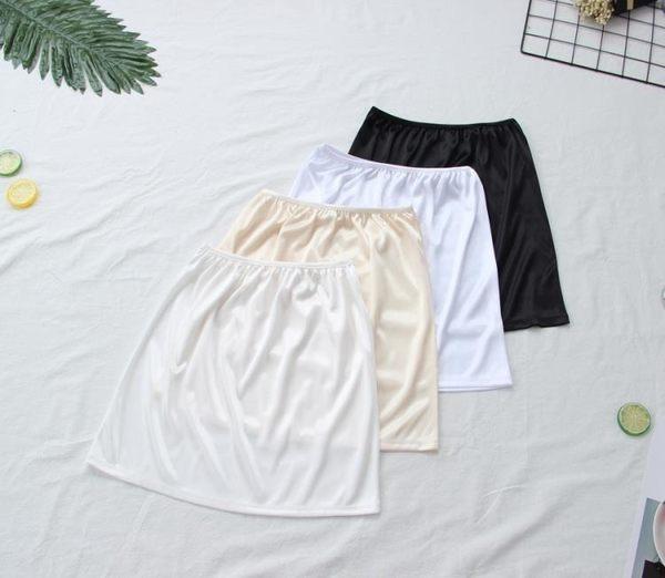 售完即止-內搭襯裙夏雪紡裙短裙防走光半身裙打底裙防透安全裙內搭短裙8-29(庫存清出T)