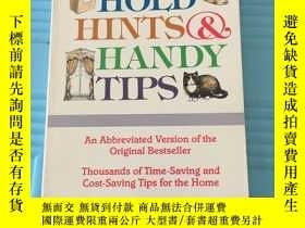二手書博民逛書店HOUSE罕見HOLD HINTS & HANDY TIPSY2