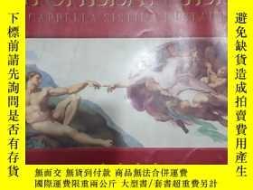二手書博民逛書店calendario罕見ufficiale dei musei vaticani梵蒂岡博物館掛歷2000年(米開朗