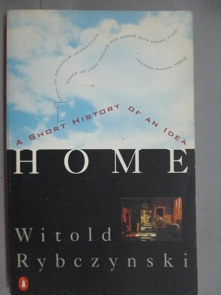 【書寶二手書T2/原文小說_GFO】Home: A Short History of an Idea_Rybczynsk