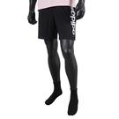 Adidas M Lin Sj Sho [GK9604] 男 短褲 運動 健身 訓練 休閒 舒適 透氣 口袋 可再生 黑