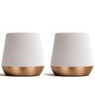 金時代書香咖啡 FELLOW Junior雙層陶瓷杯68ml - 2入組-霧面白 Junior-WH-2