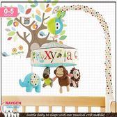 skk baby 動物園字母嬰兒床鈴/床繞/旋轉床掛/玩具