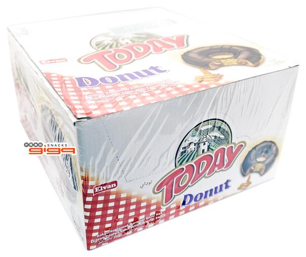 【吉嘉食品】TODAY 太妃甜甜圈 1盒24包(單包50公克),產地土耳其 [#24]{1549124}