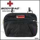 黑色機能性小側背包/腰包  AMINAH~【BODYSAC B2905】