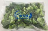 E2【魚大俠】AR009熟凍A級青花菜花椰菜(1KG/包)副食品