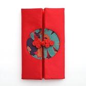 紅包袋 結婚萬元紅包袋創意布藝改口費利是封禮金布藝刺繡紅包綢緞紅包