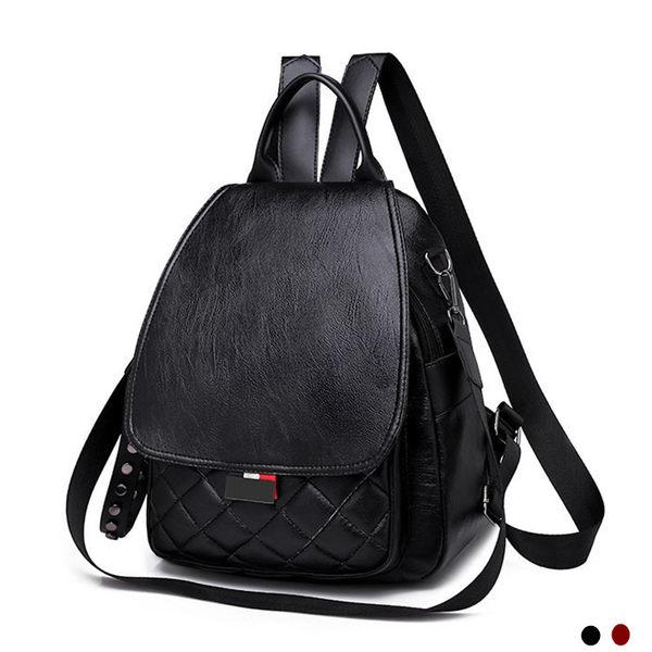 【現貨】韓風時尚兩用包 可當後背包及側背包 女包包 編號7008微風  交換禮物