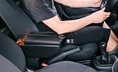 【車王汽車精品百貨】Mitsubishi Coltplus 一鍵開啟 頂級雙開式 USB孔 煙灰缸 杯架 中央扶手箱