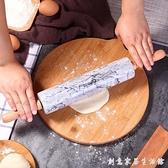 搟面杖實木餃子皮家用大號滾軸烘焙滾筒趕面棍大理石走錘搟面棒