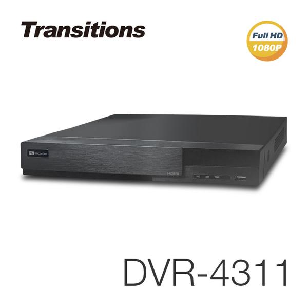 全視線 DVR-4311 4路 H.264 1080P HDMI 台灣製造 混合式監視監控錄影主機