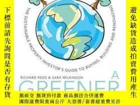 二手書博民逛書店A罕見Greener House: The Sustainable Property Investor s Gui