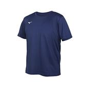 MIZUNO 男短袖T恤(免運 吸濕排汗 抗UV 咖啡紗 台灣製 慢跑 美津濃≡體院≡ 32TA150714