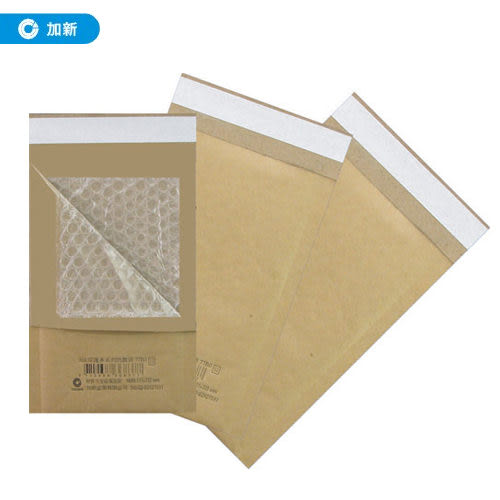 《加新》15K防震氣泡袋(10個入/包) 77B3 (防震袋/由任袋/牛皮紙袋)
