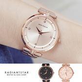 MINIFOCUS記憶的光點點鑽金屬鍊帶手錶【WMF0120】璀璨之星☆