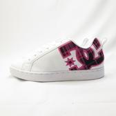 DC COURT GRAFFIK SE 休閒鞋 胖胖鞋 女款 301043TPD 桃紅x格紋【iSport愛運動】
