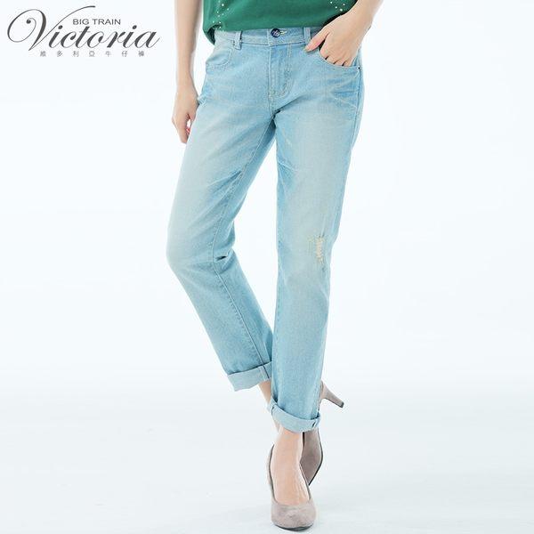 Victoria吸排淺藍彈性星鑽BF褲-女-淺藍-S.M.L.XL